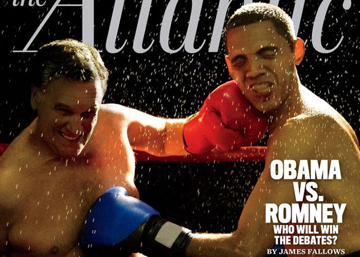 Barack Obama y Mitt Romney se enfrentarán hoy en el primer debate presidencial