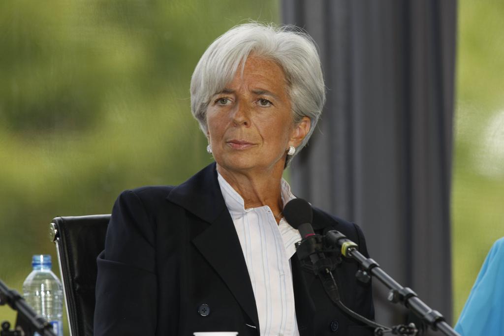 Christine Lagarde, presidenta del Fondo Monetario Internacional