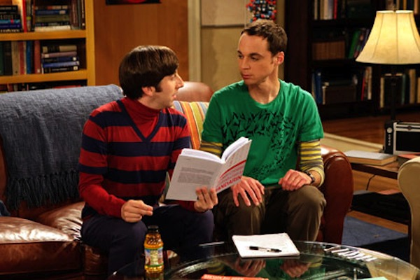 Howard y Sheldon - The Big Bang Theory. Foto Flavorwire