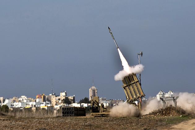 La cúpula de hierro de Israel. Foto: Bloomberg Businessweek