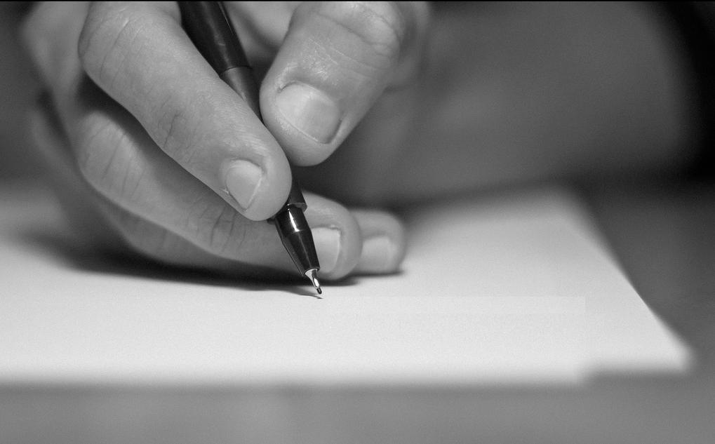 Escribir a mano. Foto Flickr