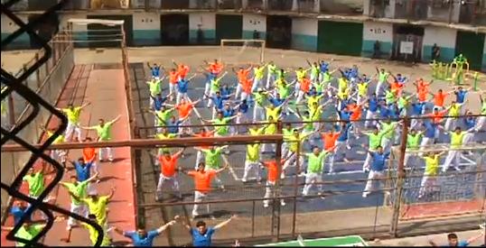 Flashmob en la ex Penitenciaría de Santiago
