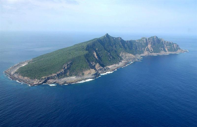 Islas Senkaku o Diaoyus. Foto EFE