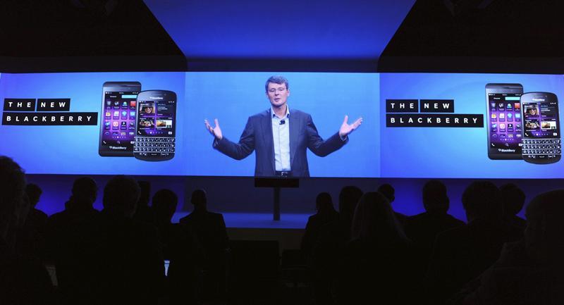 Lanzamiento de BlackBerry 10. Foto EFE