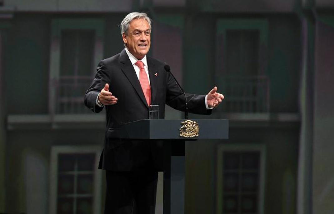 Sebastián Piñera. Foto EFE