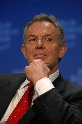 Tony Blair. Foto Flickr