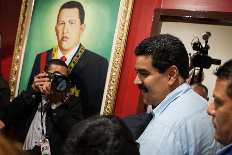 Vicepresidente Nicolás Maduro. Foto EFE