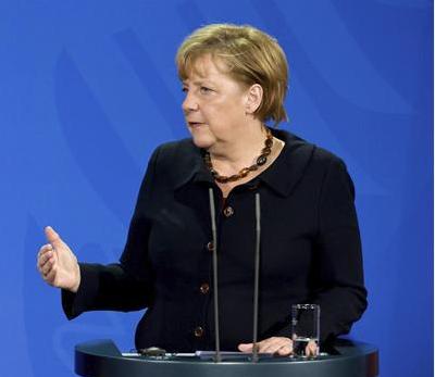 Angela Merkel. Foto EFE