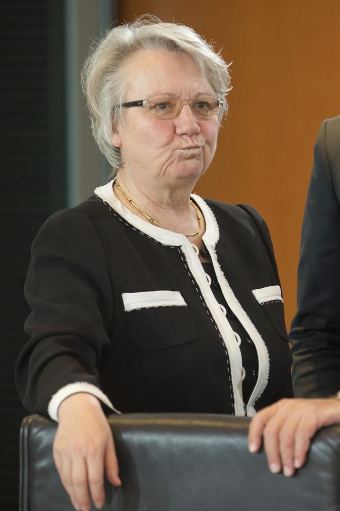 Annette Schavan. Foto EFE