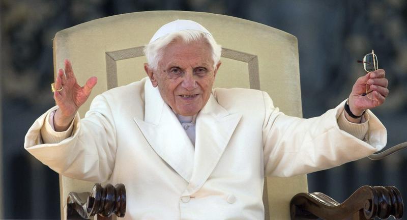 Benedicto XVI. Foto EFE
