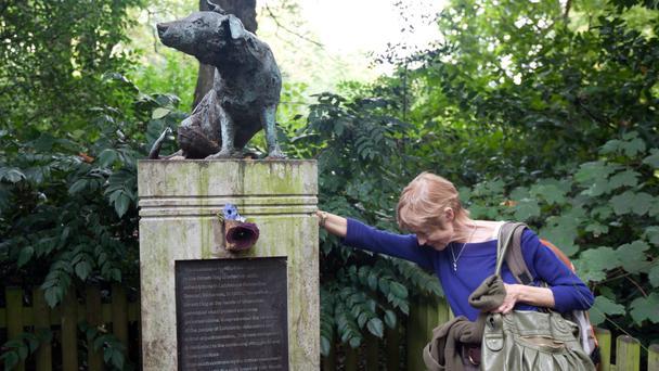 dog statue Foto: BBC