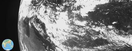 Image of Earth taken by ISRO's Chandrayaan-1 Foto: Reuter