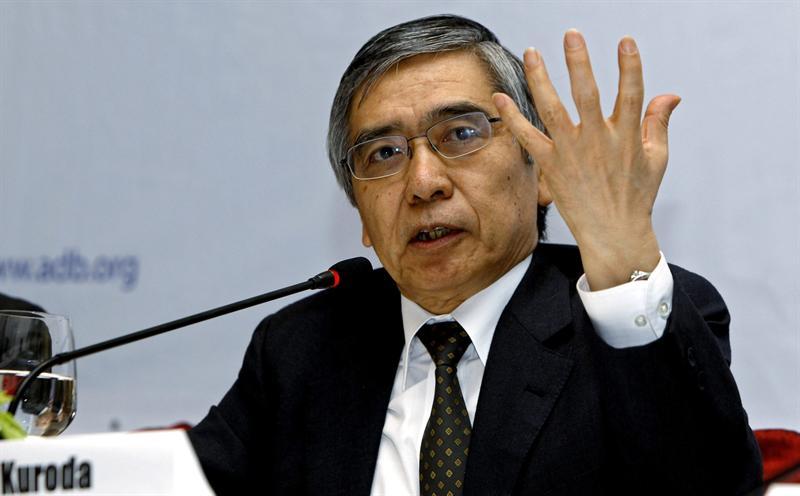 Haruhiko Kuroda. Foto EFE