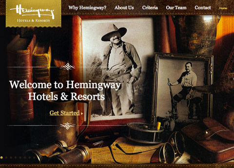 Hemingway Hotels and Resorts. Foto Flavorwire