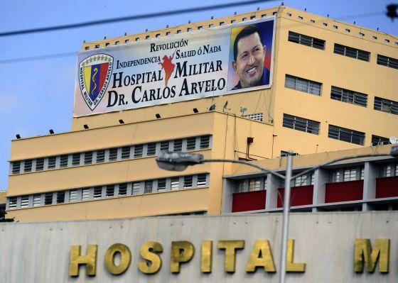 Hospital Militar de Caracas. Foto El Tiempo