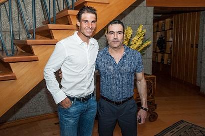Jorge Yarur y Rafael Nadal