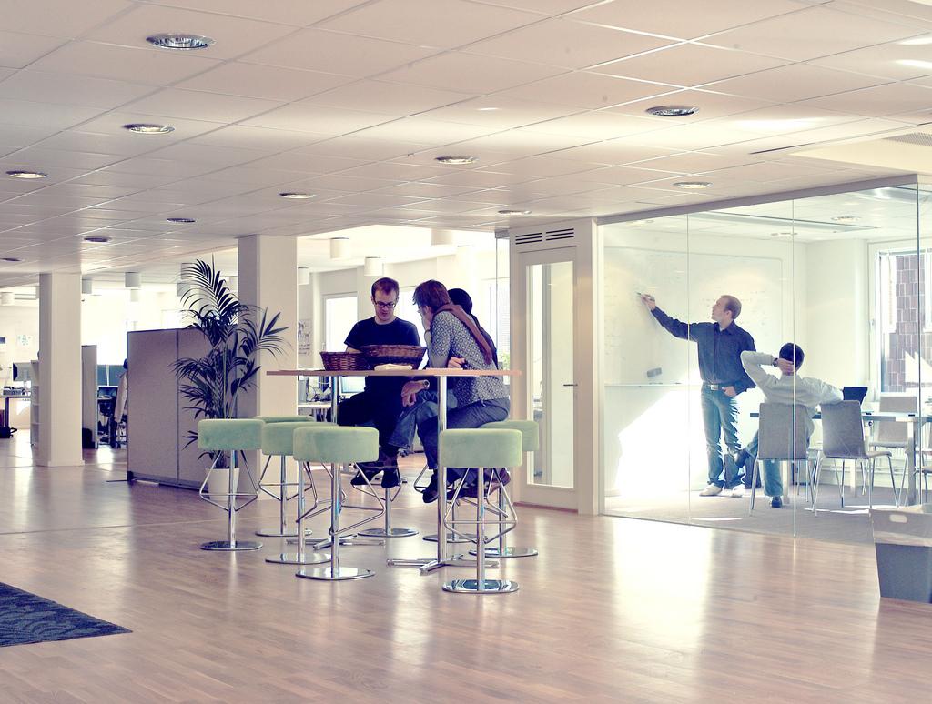 La oficina de Spotify en Suecia. Foto Flickr