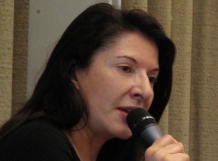 Marina Abramovic. Foto Flickr