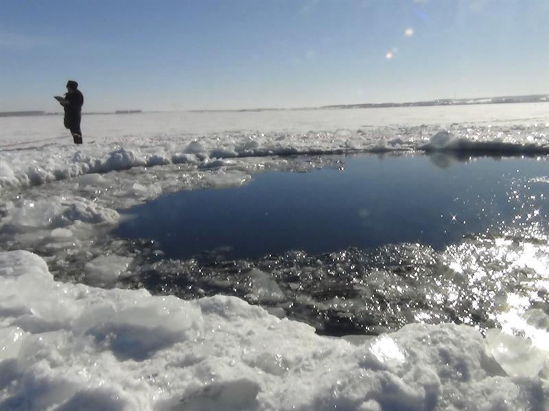 Meteorito en Rusia. Foto EFE
