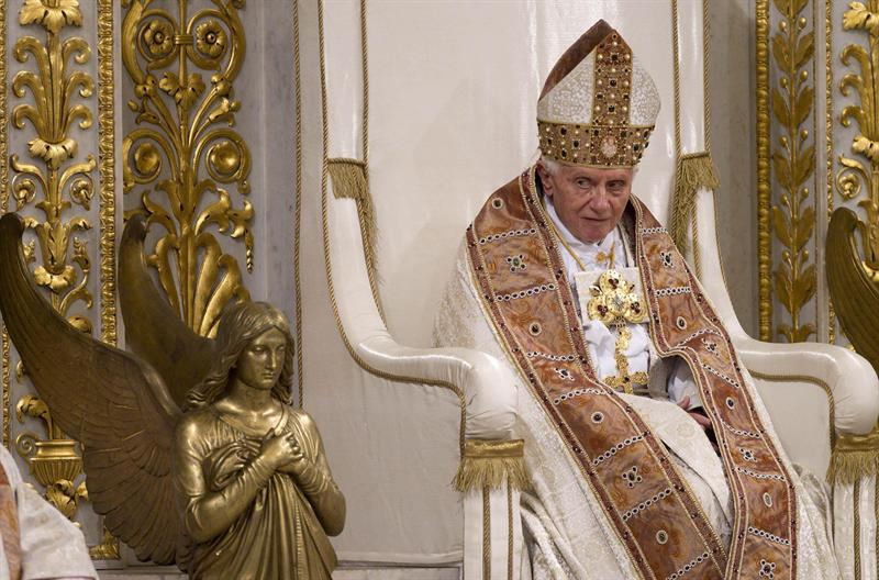 Papa Benedicto XVI. Foto EFE
