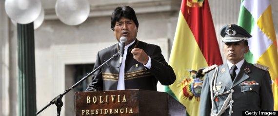 Evo Morales Foto: Huffington Post