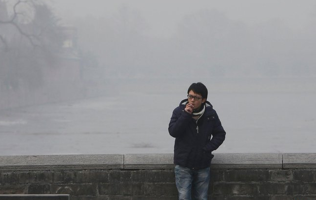 Smog en Beijing, China. Foto BBC