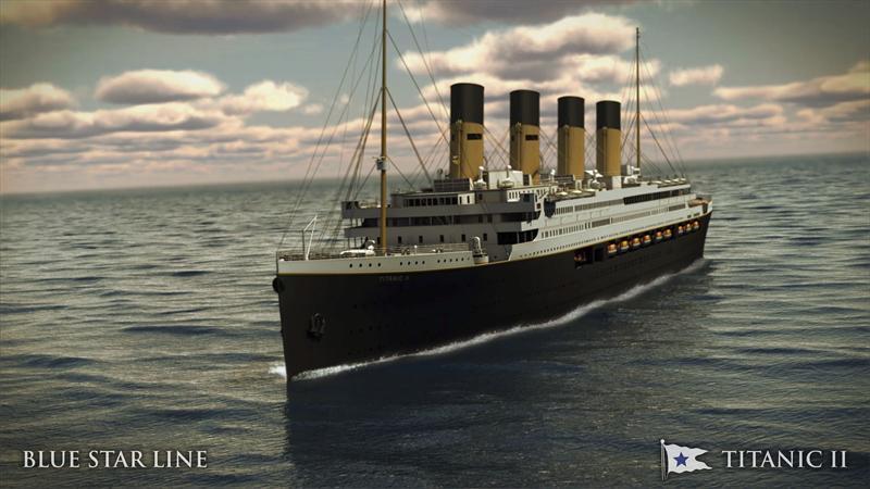 Titanic II de Blue Star Line. Foto: EFE