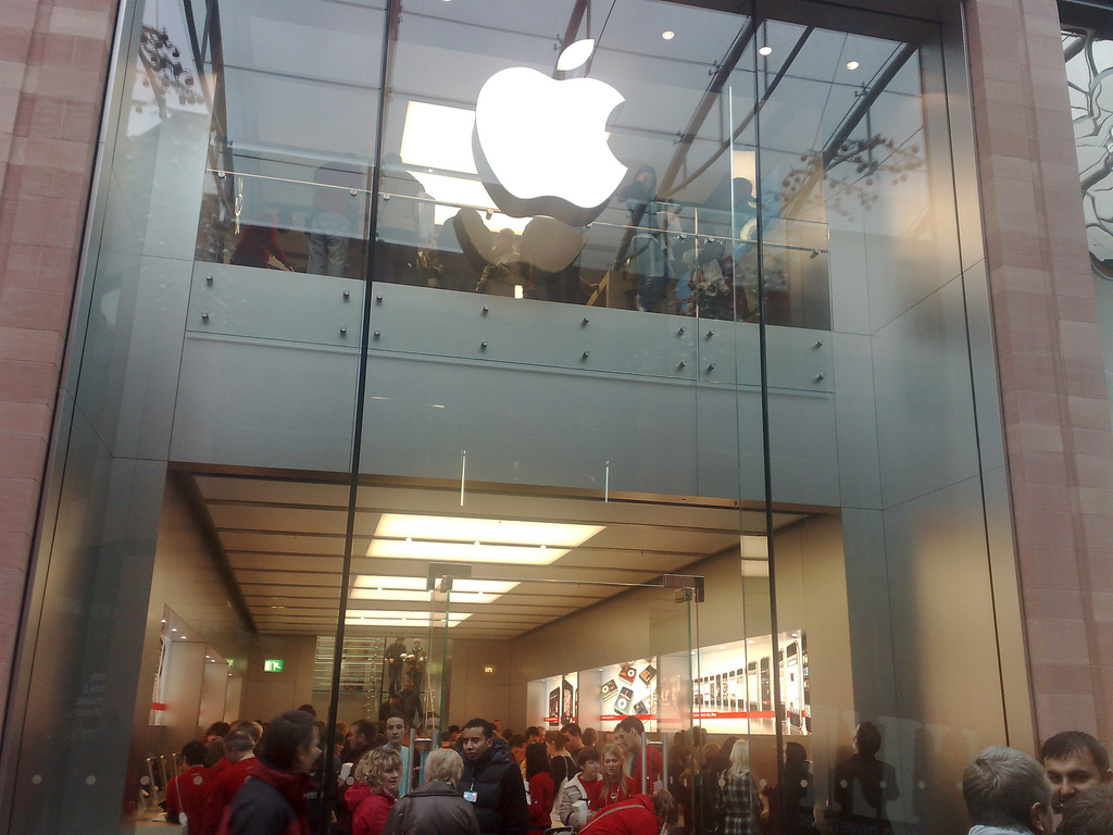 Apple Store. Foto Flickr
