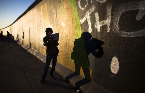 Muro de Berlín Foto: WSJ