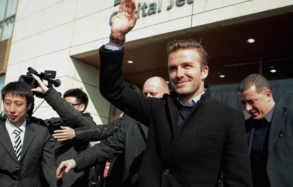 Beckham Foto: The Sun