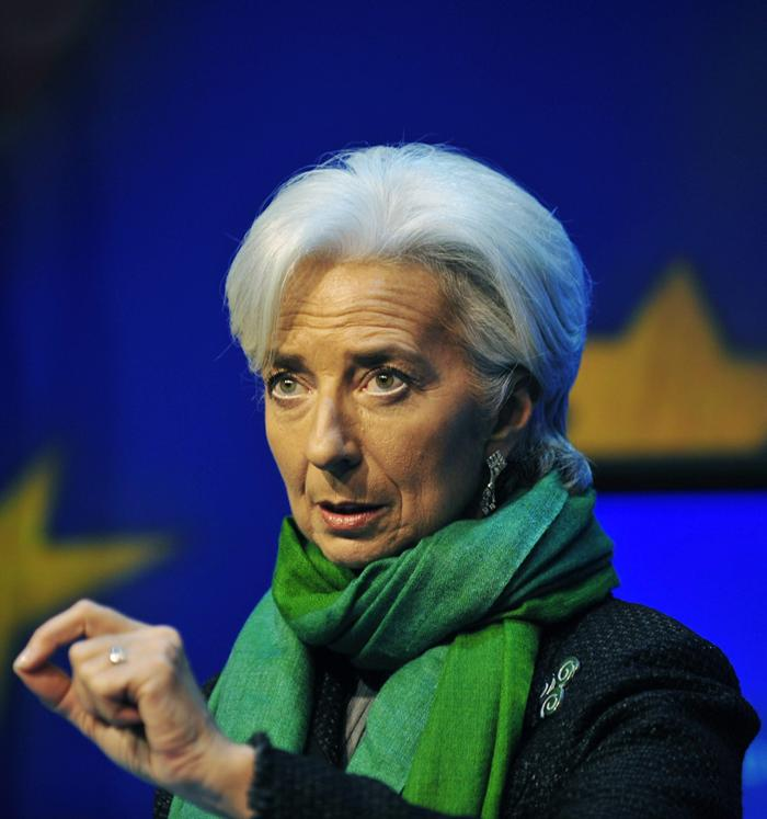 Christine Lagarde. Foto EFE