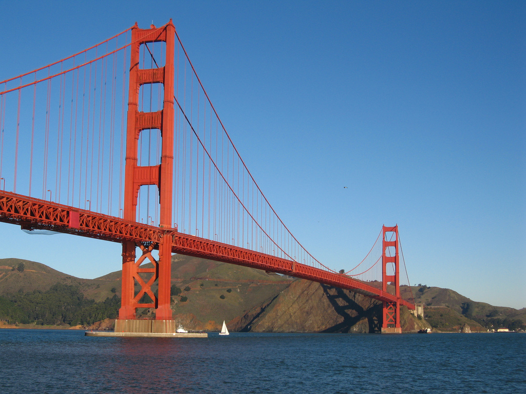 Golden Gate Bridge. Foto Flickr