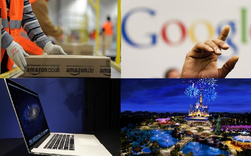 Ranking: Las empresas más prestigiosas. Fuente: Huffington Post