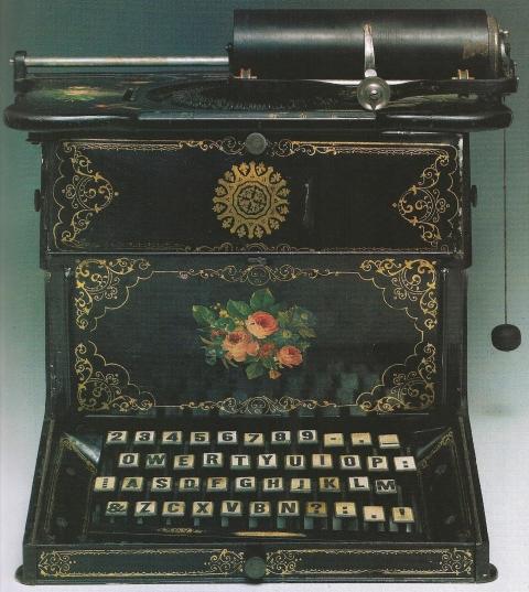 Máquina de escribir. Foto Open Culture