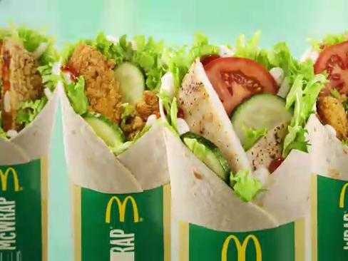 mcdonalds-chicken-mcwrap Foto: Business Insider