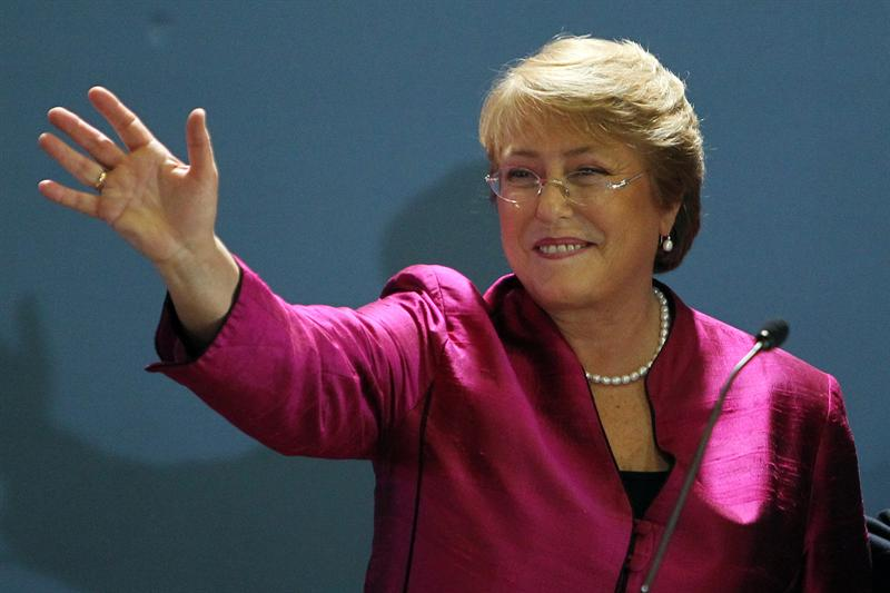 Michelle Bachelet. Foto EFE