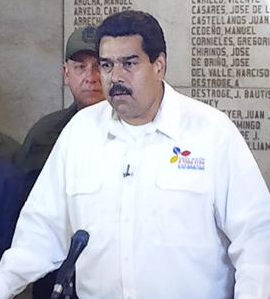 Nicolás Maduro. Foto EFE