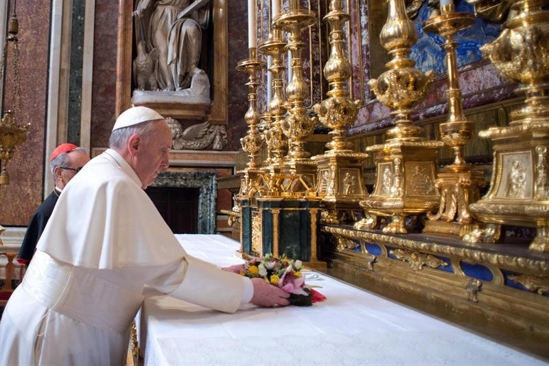 Papa Francisco. Foto EFE