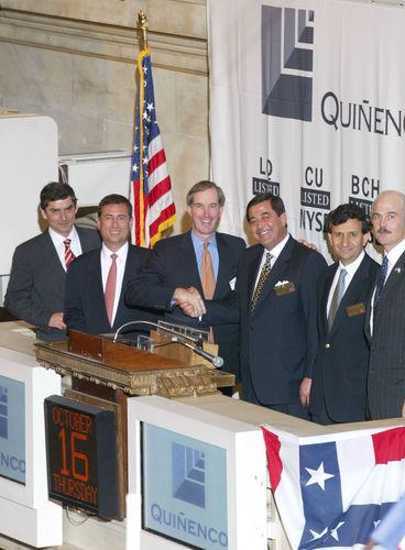 Quiñenco Group Day en octubre de 2006. Foto: Bloomberg