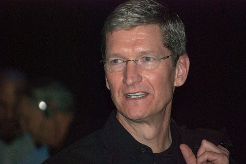 Tim Cook. Foto Flickr