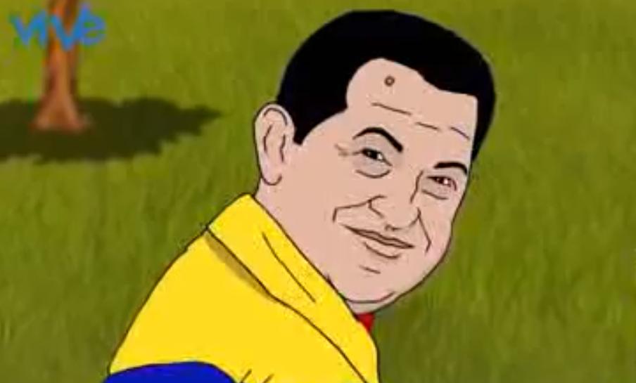 Video animado de Hugo Chávez