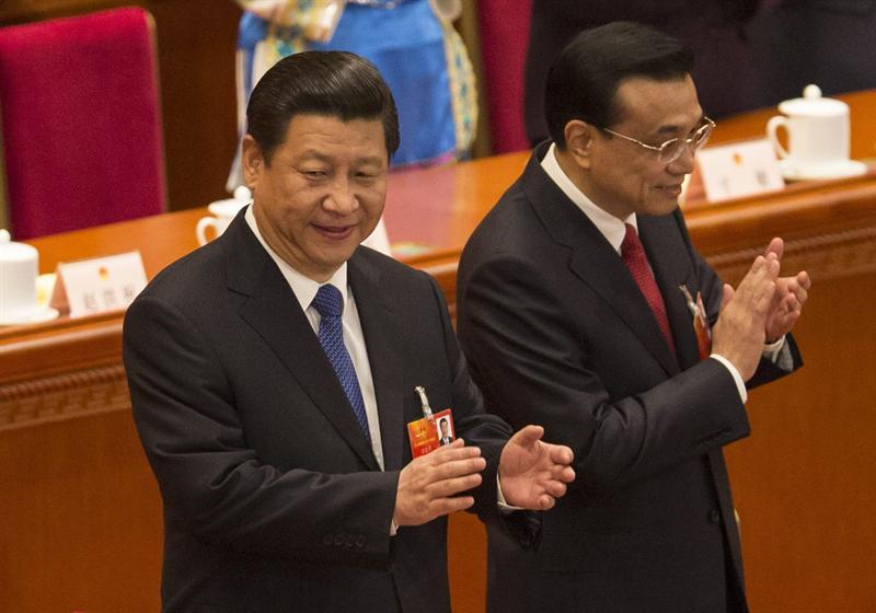 Xi Jinping y Li Keqiang. Foto EFE