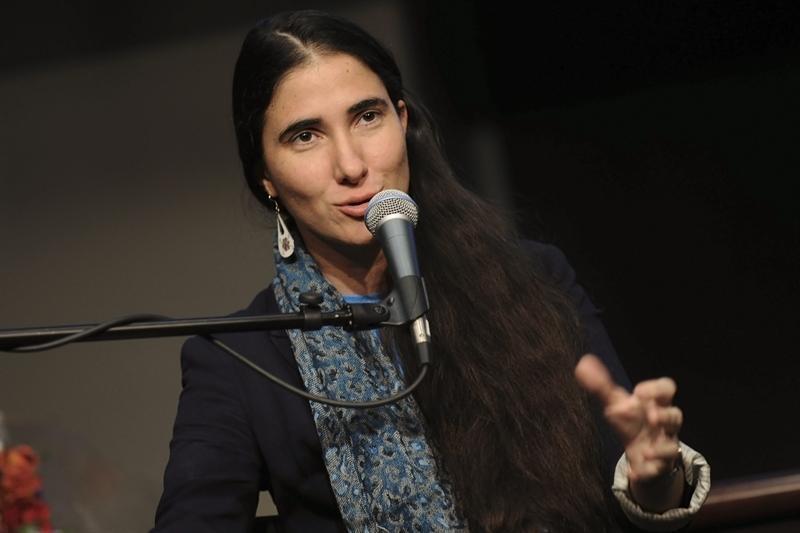 Yoani Sánchez. Foto EFE