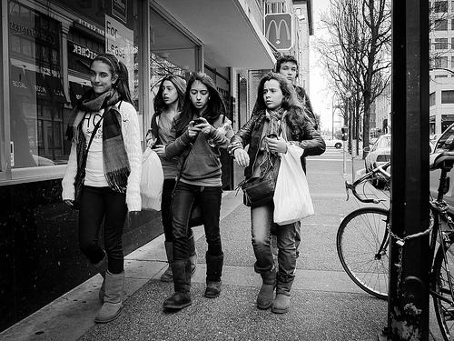 Adolescentes. Foto Flickr