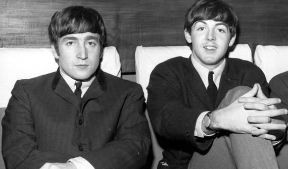 John Lennon y Paul McCartney. Foto Rolling Stone