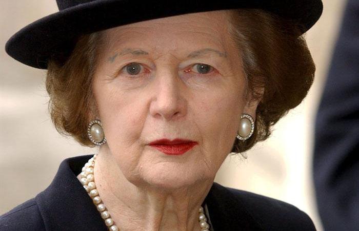 Margaret Thatcher. Foto EFE