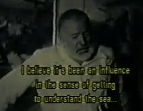 Video entrevista a Hemingway