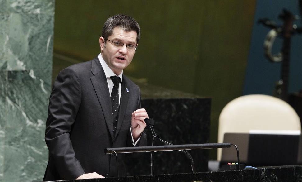 Vuk Jeremic, presidente de la Asamblea General de las Naciones Unidas. Foto ONU