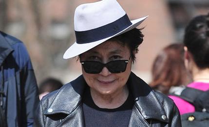 Yoko Ono. Foto The Guardian
