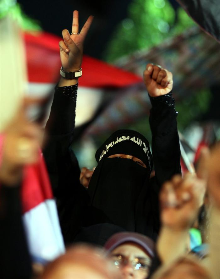 Protestas en Egipto Foto. Efe